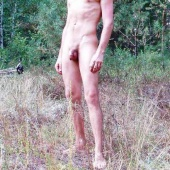 nudist man the guy on the nature